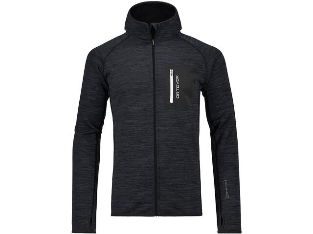 Ortovox M's Fleece Melange Hoody Black Blend